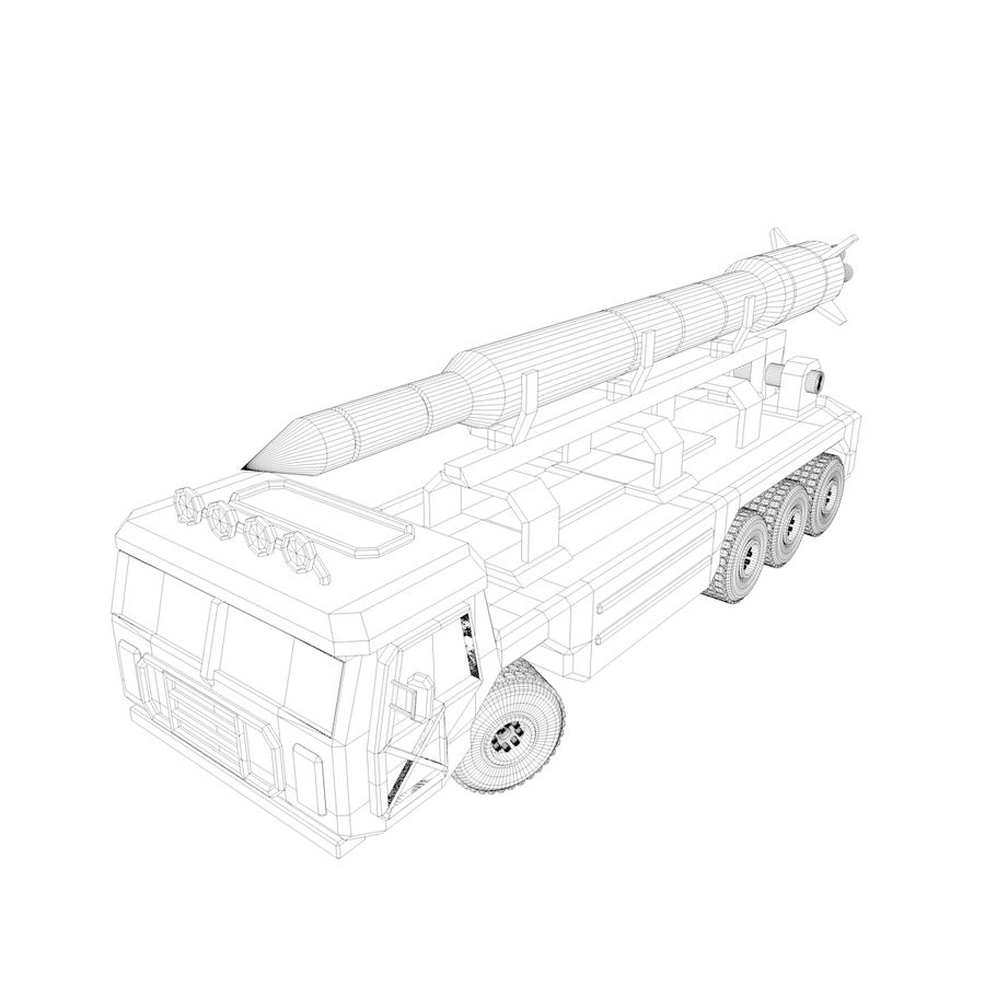 Military Vehicles Pack royalty-free 3d model - Preview no. 33