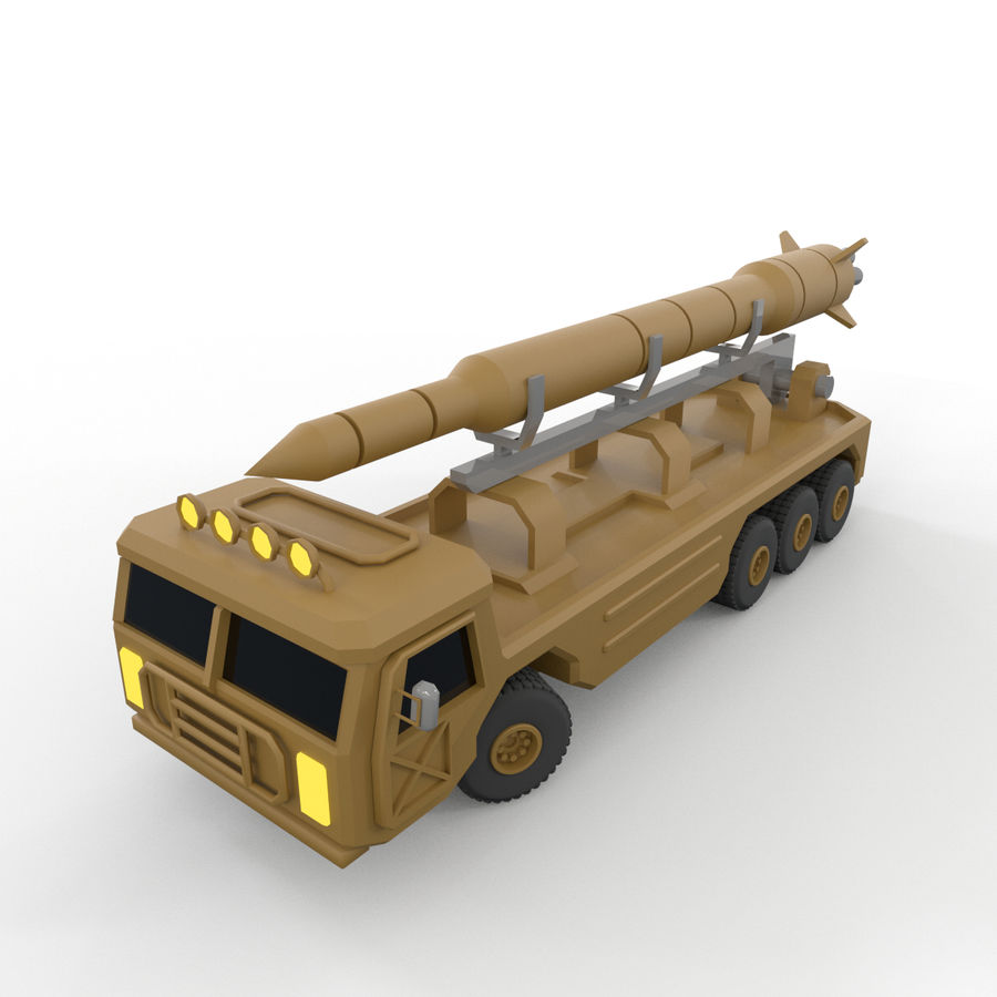 Military Vehicles Pack royalty-free 3d model - Preview no. 32