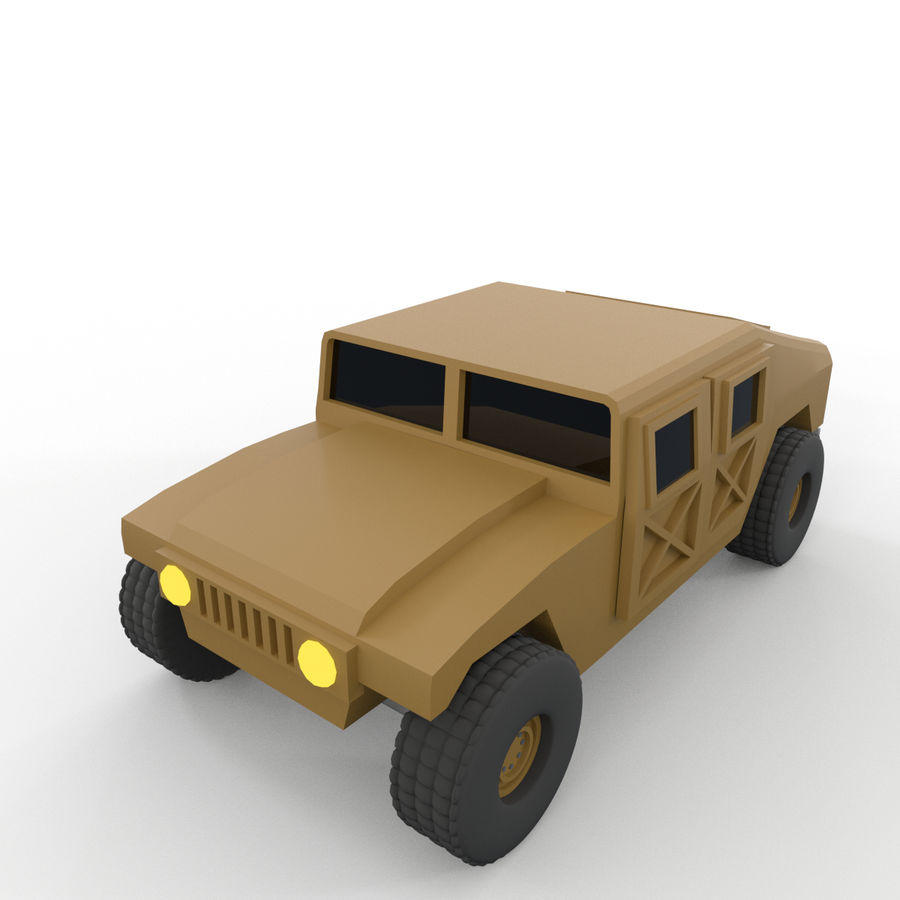 Military Vehicles Pack royalty-free 3d model - Preview no. 20
