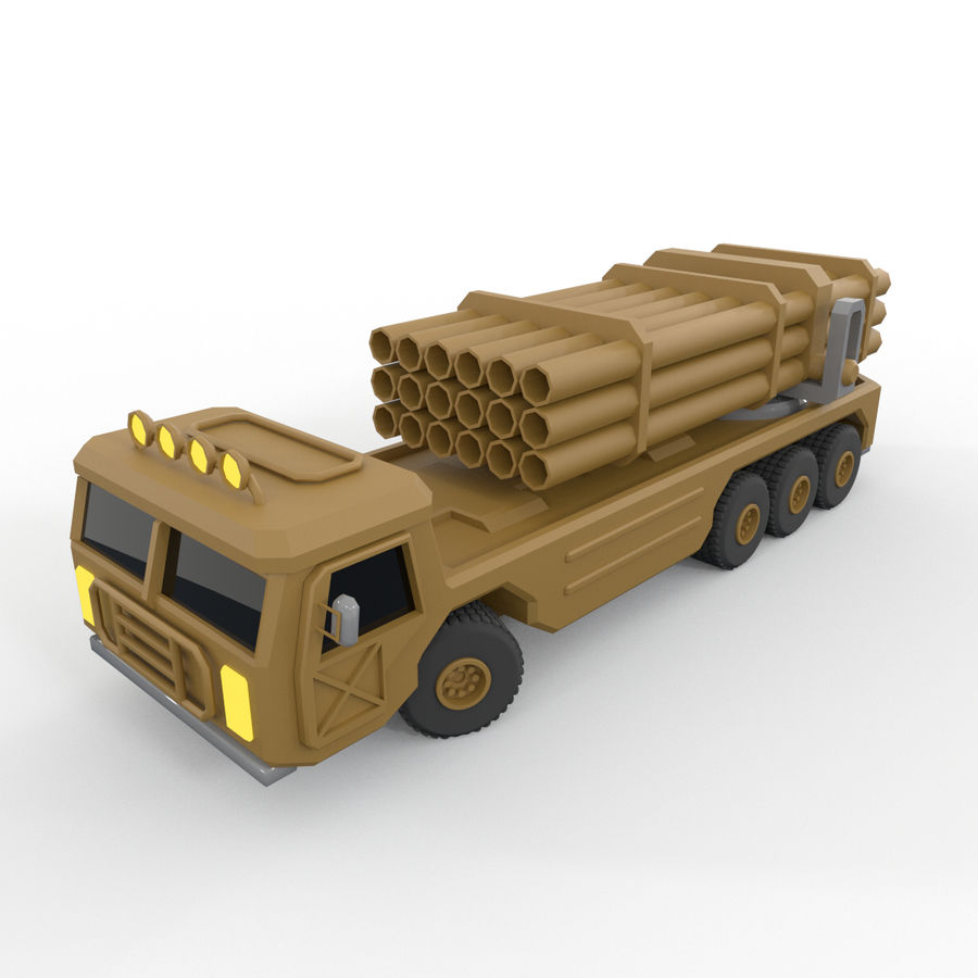 Military Vehicles Pack royalty-free 3d model - Preview no. 28