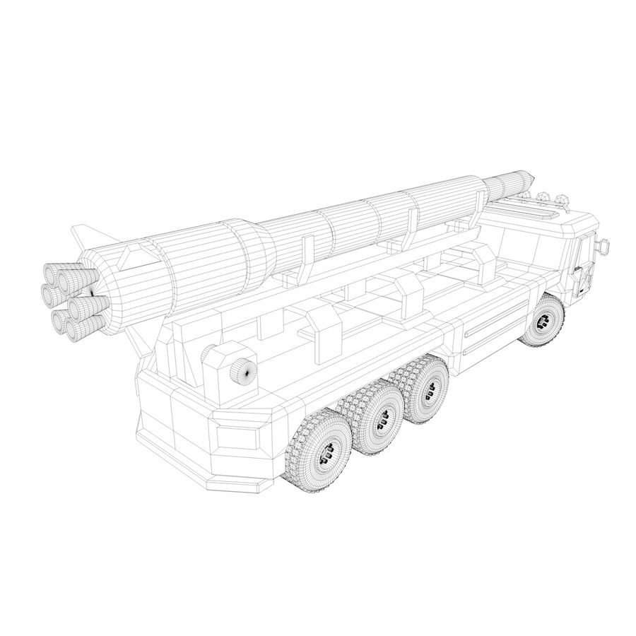Military Vehicles Pack royalty-free 3d model - Preview no. 31