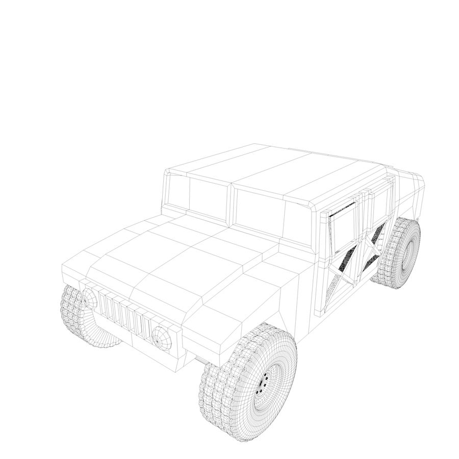Military Vehicles Pack royalty-free 3d model - Preview no. 21