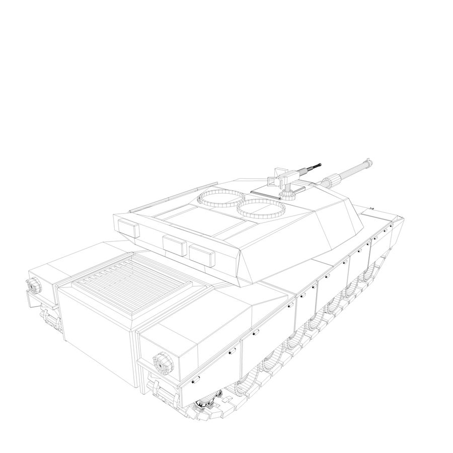 Military Vehicles Pack royalty-free 3d model - Preview no. 23