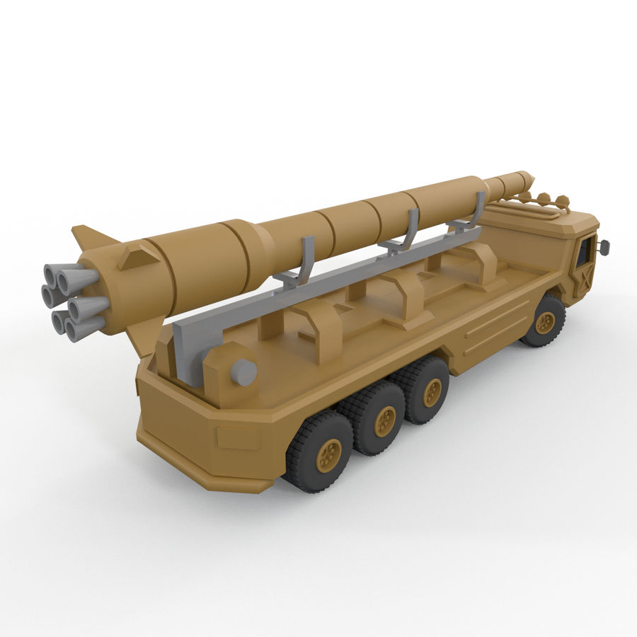 Military Vehicles Pack royalty-free 3d model - Preview no. 30