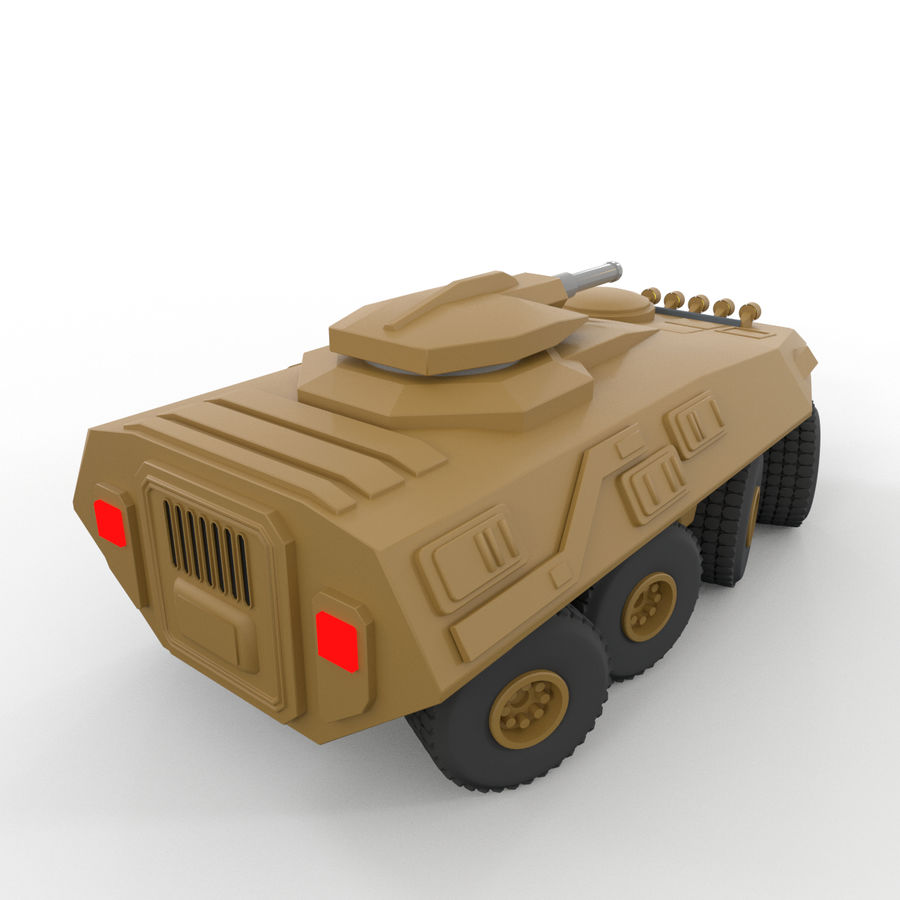 Military Vehicles Pack royalty-free 3d model - Preview no. 34
