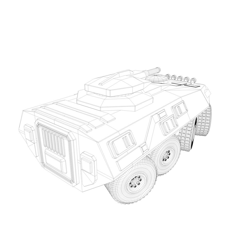Military Vehicles Pack royalty-free 3d model - Preview no. 35