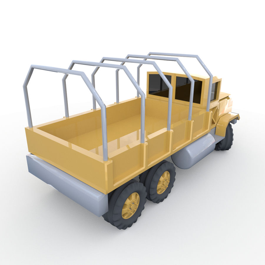 Military Vehicles Pack royalty-free 3d model - Preview no. 14