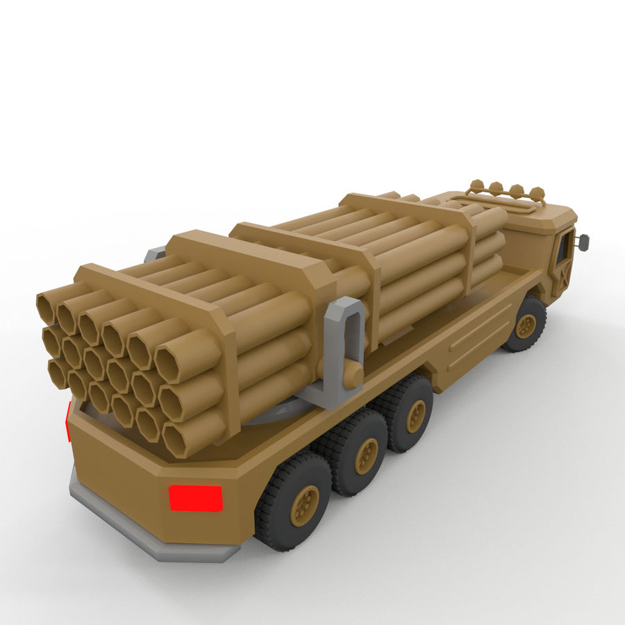 Military Vehicles Pack royalty-free 3d model - Preview no. 26