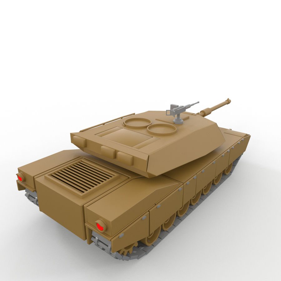 Military Vehicles Pack royalty-free 3d model - Preview no. 22