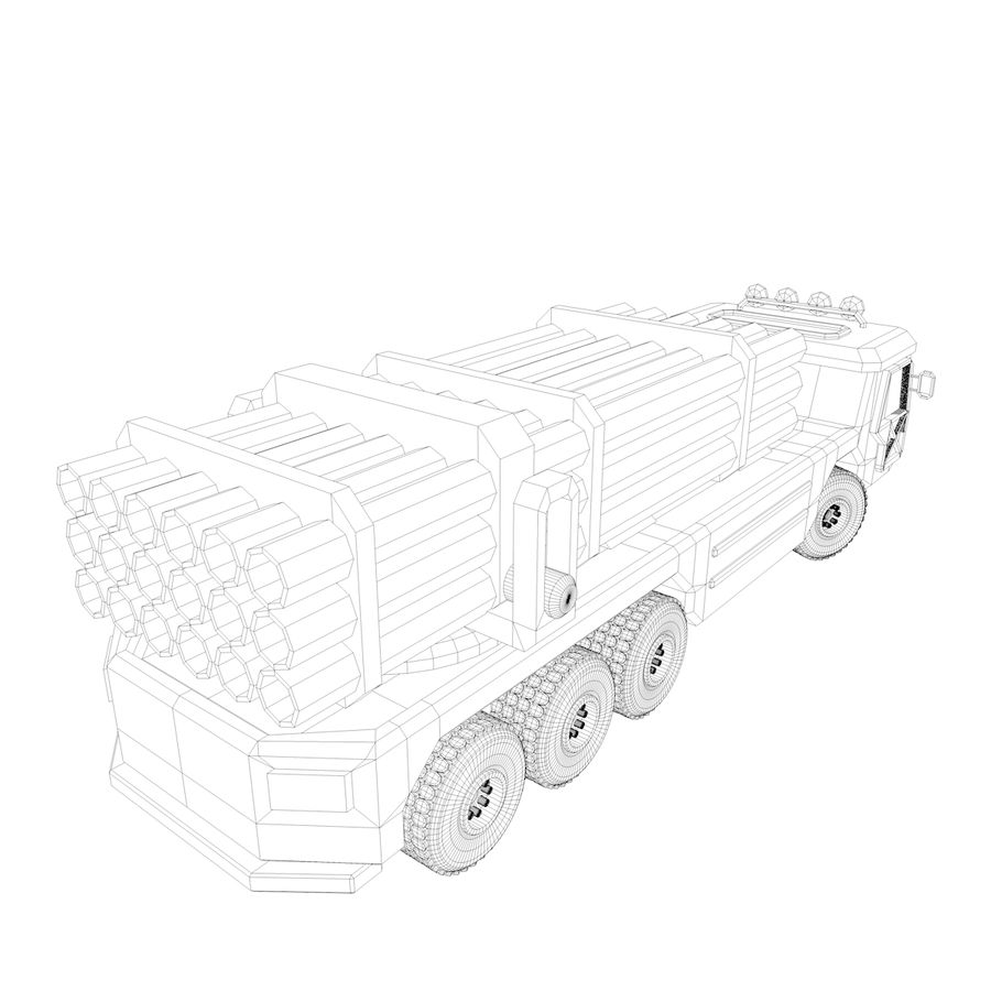 Military Vehicles Pack royalty-free 3d model - Preview no. 27