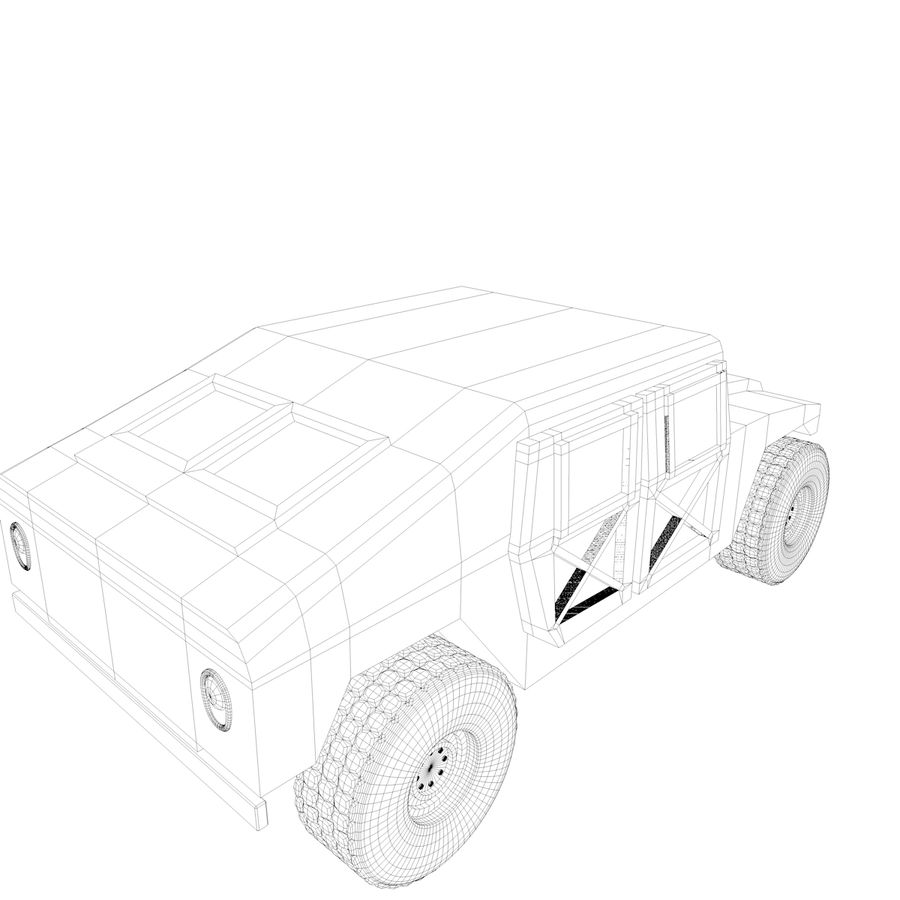 Military Vehicles Pack royalty-free 3d model - Preview no. 19