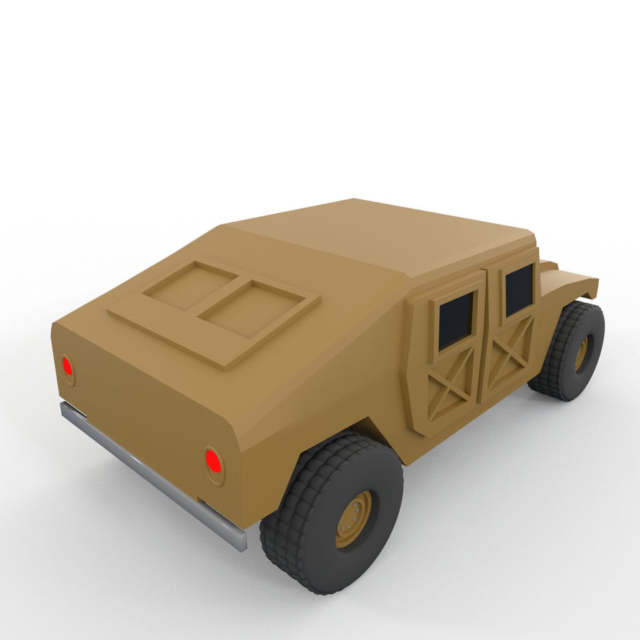 Military Vehicles Pack royalty-free 3d model - Preview no. 18