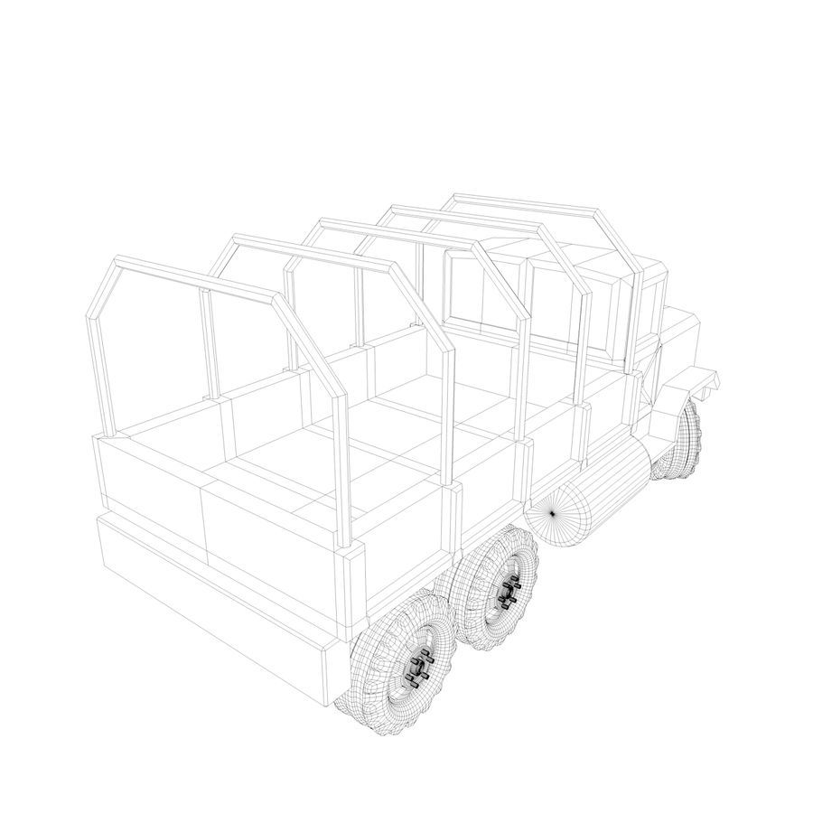 Military Vehicles Pack royalty-free 3d model - Preview no. 15