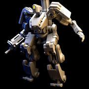 Bastion Robot design prototype 3d model