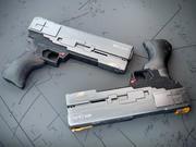 concetto di arma 3d model