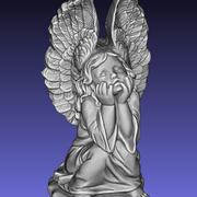 Grave Cemetery Angel 3d model