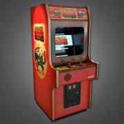 Arcade Cabinet 05 (Arcades) - Juego PBR listo modelo 3d