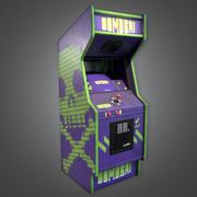 Arcade Cabinet 01 (Arcades) - Juego PBR listo modelo 3d