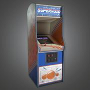 Arcade Cabinet 09 (Arcades) - PBR Game Ready modelo 3d