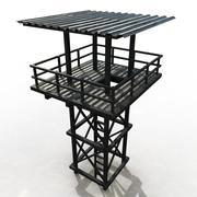 Torre de vigilancia modelo 3d