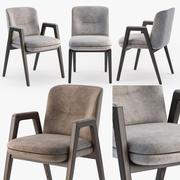 Minotti Lance chair 3d model