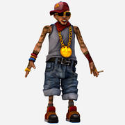 Rapper Amargo, o Homem Mais Legal - Renat 3d model