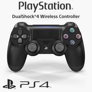 索尼Dualshock 4无线控制器(2016) 3d model