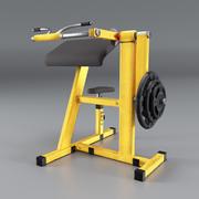 Simulador para bíceps 3d model