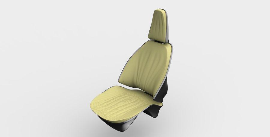 car seat royalty-free 3d model - Preview no. 10
