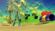 ruota panoramica 3d model