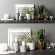 decorative set 04 3d model