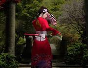 Geisha krijger 3d model