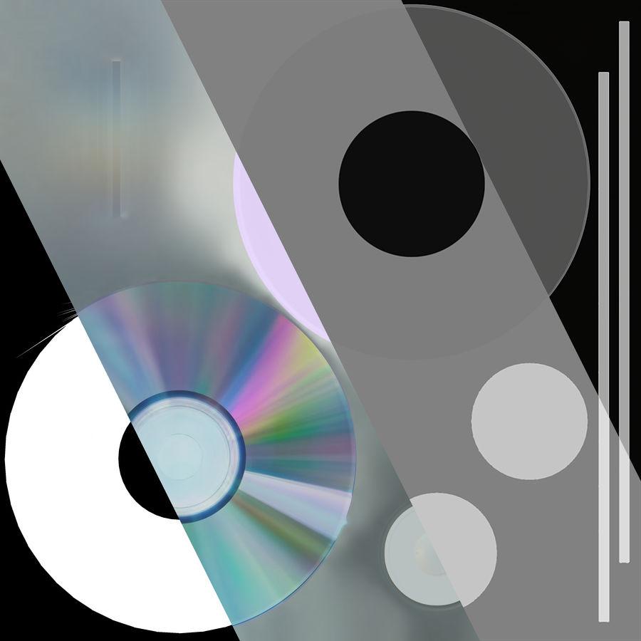 CD 디스크 royalty-free 3d model - Preview no. 46