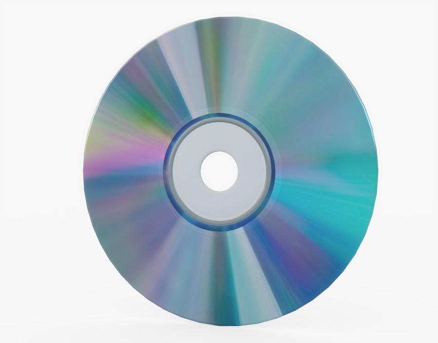 CD 디스크 royalty-free 3d model - Preview no. 3