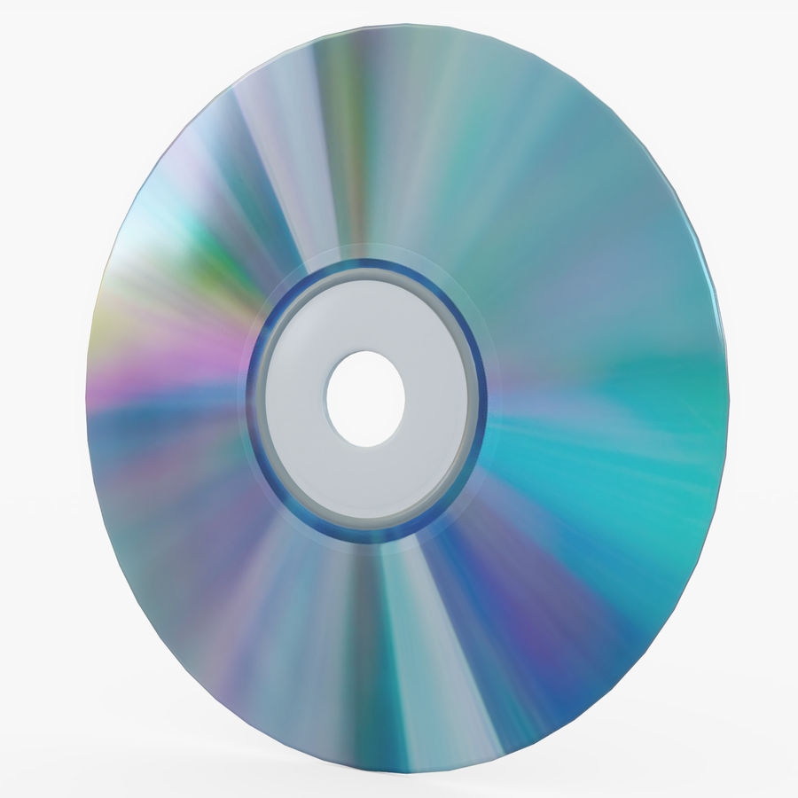 CD 디스크 royalty-free 3d model - Preview no. 25