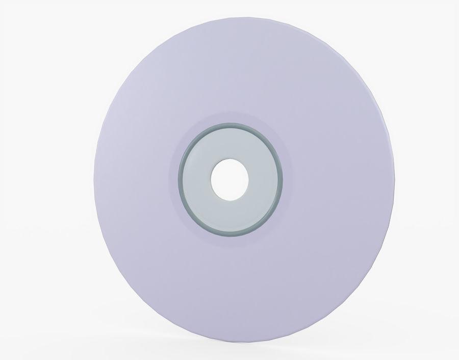 CD 디스크 royalty-free 3d model - Preview no. 13