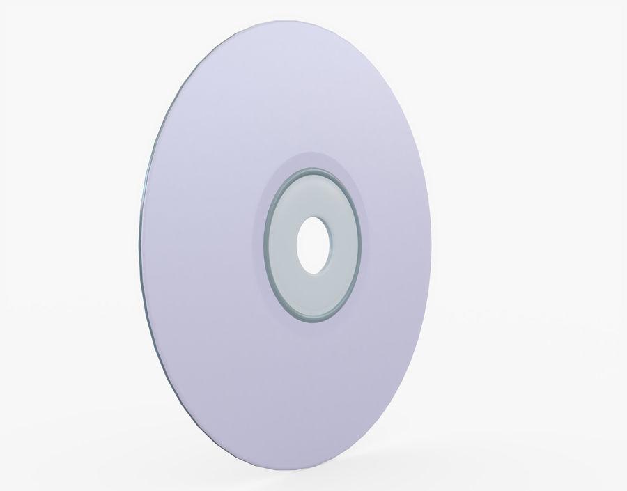 CD 디스크 royalty-free 3d model - Preview no. 9