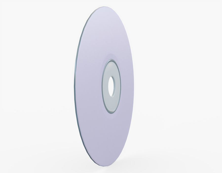 CD 디스크 royalty-free 3d model - Preview no. 8