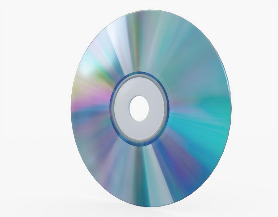 CD 디스크 royalty-free 3d model - Preview no. 4