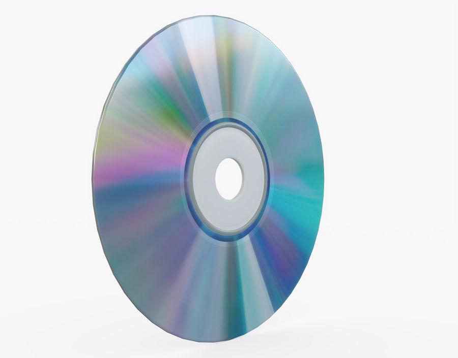 CD 디스크 royalty-free 3d model - Preview no. 19