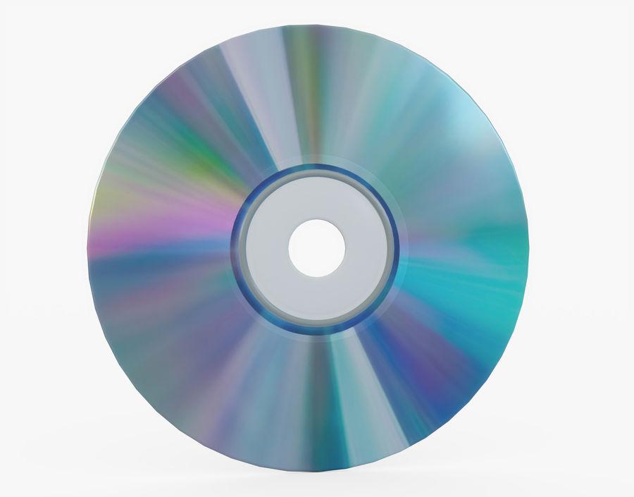 CD 디스크 royalty-free 3d model - Preview no. 21