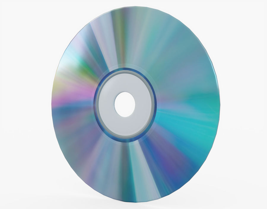 CD 디스크 royalty-free 3d model - Preview no. 1