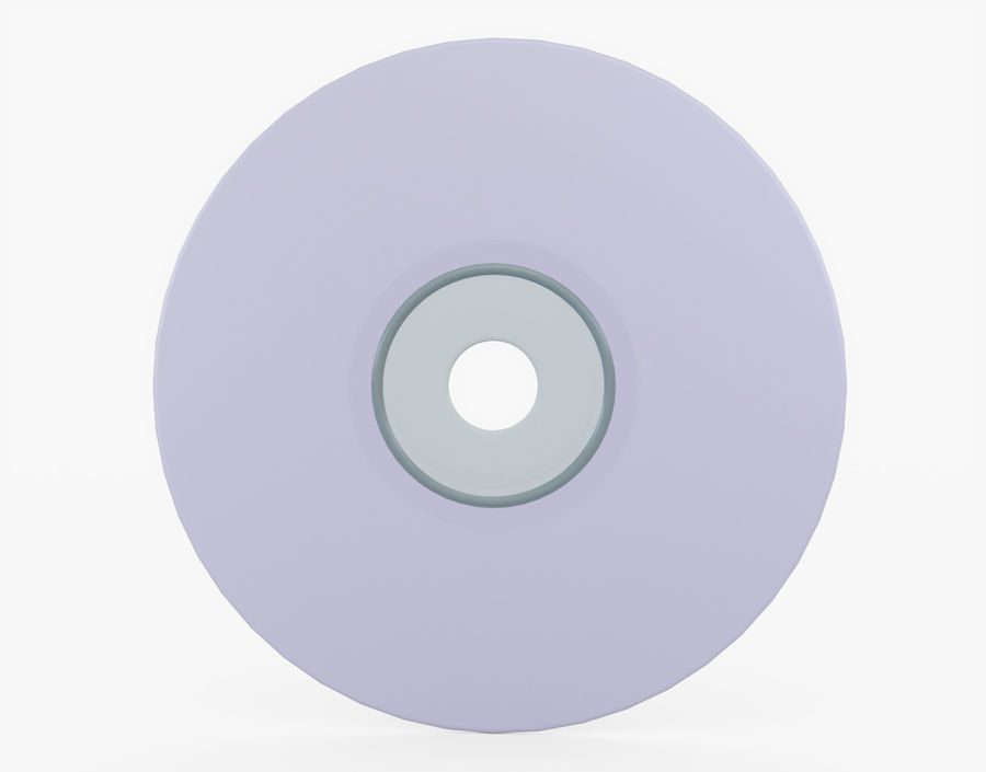 CD 디스크 royalty-free 3d model - Preview no. 12