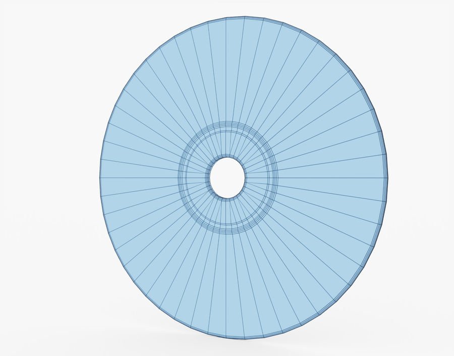 CD 디스크 royalty-free 3d model - Preview no. 27