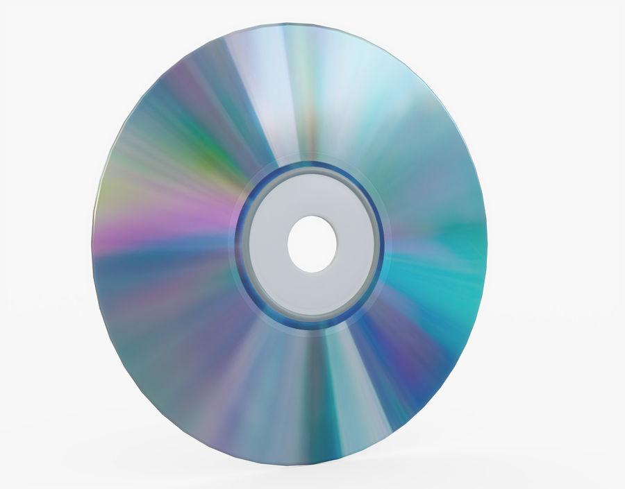 CD 디스크 royalty-free 3d model - Preview no. 20