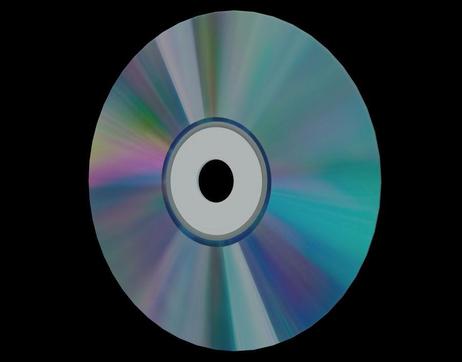 CD 디스크 royalty-free 3d model - Preview no. 22
