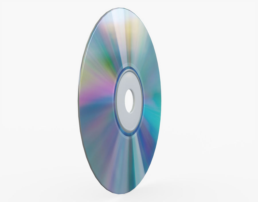 CD 디스크 royalty-free 3d model - Preview no. 18