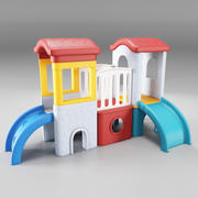 Kinderglijbanen 3d model