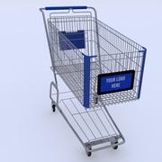 Shopping Cart Logo 3d model