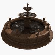 Granieten fontein 3d model
